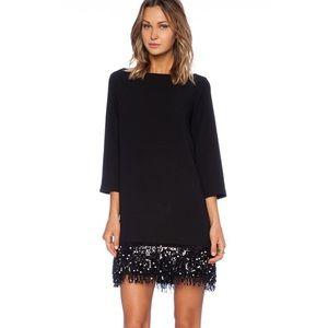 Kate Spade Dress Sequin Fringe Mini Las Vegas